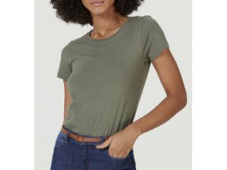 Blusa Feminina Hering 0241 Wh0en Militar - Tamanho Médio