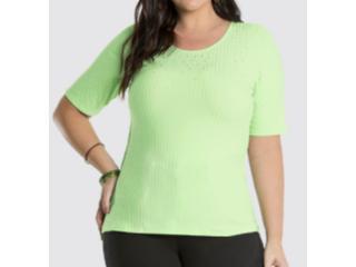 Blusa Feminina Lunender 47115 Verde - Tamanho Médio