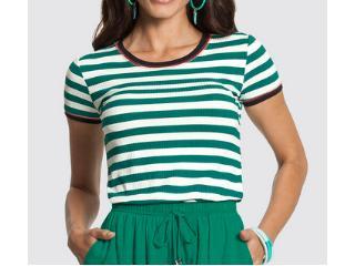 Blusa Feminina Lunender 46538 Verde - Tamanho Médio