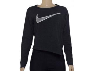Blusa Feminina Nike 833652-010 Training Top Preto - Tamanho Médio