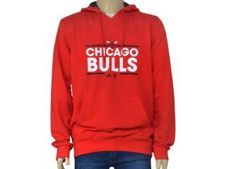 Blusão Masculino Adidas B45418 Nba Hoody Vermelho - Tamanho Médio