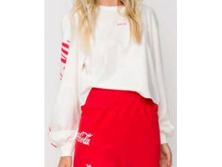 Blusão Feminino Coca-cola Clothing 403200494 58529 Off White - Tamanho Médio