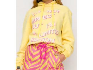 Blusão Feminino Coca-cola Clothing 403200500 53686 Amarelo - Tamanho Médio