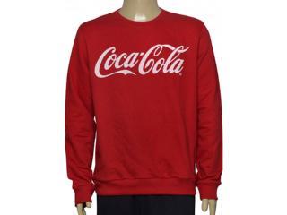 Blusão Masculino Coca-cola Clothing 413200259 Vermelho - Tamanho Médio