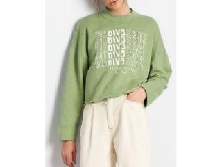Blusão Feminino Colcci 400100815 39000 Verde - Tamanho Médio