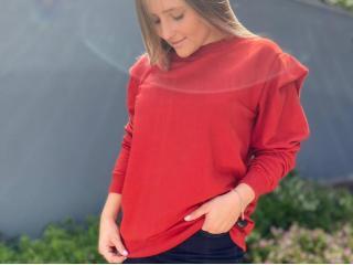 Blusão Feminino Colcci 400100860 48344 Vermelho - Tamanho Médio