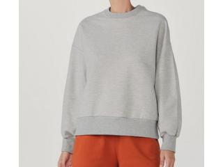 Blusão Feminino Hering 068r M2hen Mescla - Tamanho Médio
