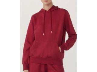 Blusão Feminino Hering 060n Rwwen Vermelho - Tamanho Médio