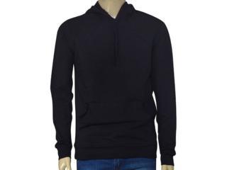 Masculino Blusão Lado Avesso 101498 Preto - Tamanho Médio