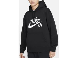 Blusão Masculino Nike Cw4383-010 sb Craft Hoodie Preto - Tamanho Médio