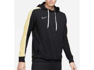 Blusão Masculino Nike Cz0966-011 Dri-fit Academy Preto/amarelo - Tamanho Médio
