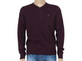 Blusão Masculino Tommy Th0857858112 Vinho - Tamanho Médio