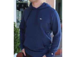 Blusão Masculino Tommy Tjdmodm06761 Marinho - Tamanho Médio