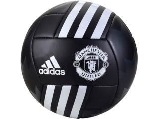 Bola Masculina Adidas Bs3442 Man United fb Preto/branco - Tamanho Médio
