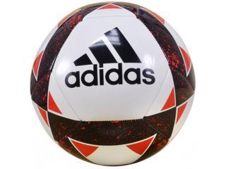 Bola Masculina Adidas Bq8718 Starlancer v  Branco/preto/vermelho - Tamanho Médio