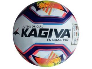 Unisex Kagiva 0089 Bola Futsal f5 Brasil Rosa Neon/azul/preto - Tamanho Médio