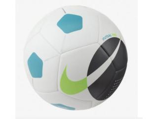 Bola Unisex Nike Sc3974-103 Maestro Branco/preto/azul - Tamanho Médio