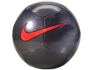 Bola Masculina Nike Sc3101-008 Pitch Training Preto/laranja - Tamanho Médio