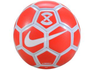 Bola Masculina Nike Sc3039-673 Footballx Menor Vermelho/branco - Tamanho Médio