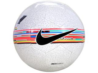 Bola Unisex Nike Sc3898-100 Cr7 Prestige Branco Color - Tamanho Médio