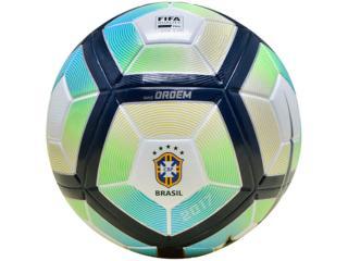 Bola Masculina Nike Sc3072-100 nk Cbf Ordem 4 Branco/marinho/verde/azul - Tamanho Médio