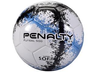 Bola Masculina Penalty 5203091040 rx 500 r3 Fusion Viii Branco/azul/preto - Tamanho Médio