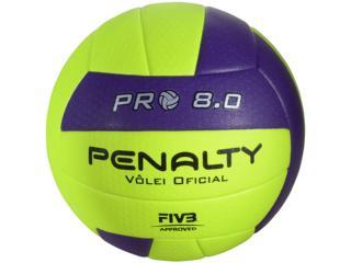 Bola Unisex Penalty 5415822400 8.0 Pro ix Limão/roxo - Tamanho Médio