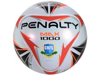 Bola Unisex Penalty 5415911170 Max 1000 Branco/preto/vermelho - Tamanho Médio