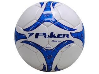 Bola Unisex Poker 05674 Branco/azul - Tamanho Médio