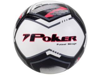 Bola Masculina Poker 05780 Thermocontrol Mirage Preto/chumbo/vermelho - Tamanho Médio