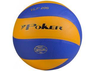 Bola Unisex Poker 05775 Volleyball Profissional Vlp 200 Azul/amarelo - Tamanho Médio