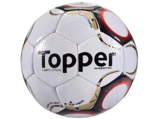 Bola Masculina Topper 4200141111 Maestro Td2 Branco/vermelho - Tamanho Médio