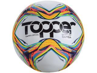 Bola Unisex Topper 53110001150 Samba v Cpo po x Gauchão 2020 Branco/color - Tamanho Médio