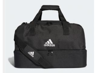 Bolsa Unisex Adidas Dq1078 Mala Pequeno Tiro Preto/branco - Tamanho Médio