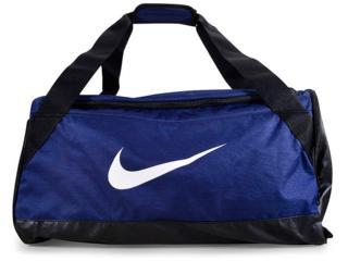 Bolsa Masculina Nike Ba5334-410 Brasilia Training Duffel Azul/preto - Tamanho Médio
