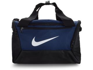 Bolsa Unisex Nike Ba5961-410 Brasilia Preto/marinho - Tamanho Médio