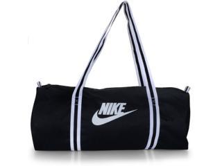 Bolsa Unisex Nike Ba6147-010 Heritage Preto/branco - Tamanho Médio