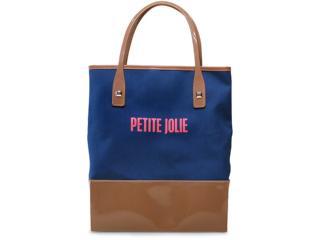 Bolsa Feminina Petite Jolie Pj1463 Marinho/natural - Tamanho Médio