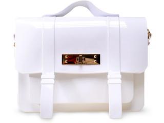 Bolsa Feminina Petite Jolie Pj1461 Branco Nuvem - Tamanho Médio