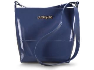 Bolsa Feminina Petite Jolie Pj4117 Azul Mule - Tamanho Médio