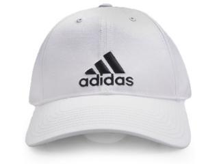 Boné Masculino Adidas S98150 6p Cap Cotton Branco - Tamanho Médio