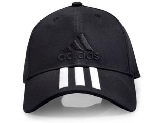 Boné Masculino Adidas S98156 6p 3s Cap Preto - Tamanho Médio