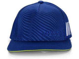 Boné Masculino Adidas Ec2478 Messi Kids ya Azul/limão - Tamanho Médio