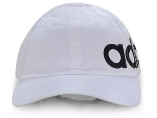 Boné Masc Infantil Adidas Ed0319 Bsbll Lnr Bld Branco - Tamanho Médio
