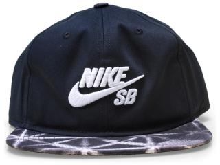 Boné Unisex Nike 659419-010 sb Seasonal Snapback Preto - Tamanho Médio