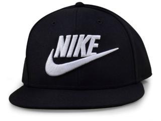 Boné Masculino Nike 584169-010 Futura True-red Preto - Tamanho Médio