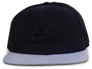 Boné Masculino Nike 628683-017 sb Icon Pro  Preto/cinza - Tamanho Médio