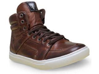Bota Masculina Cavalera Shoes 13.01.1632 Chocolate - Tamanho Médio