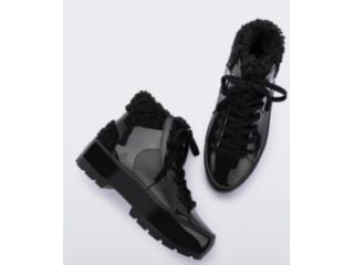 Bota Feminina Melissa 33318 01003 Fluffy Sneaker  Preto - Tamanho Médio