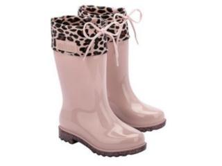 Bota Fem Infantil Melissa 33365 54039 Rain Boot Rosa - Tamanho Médio